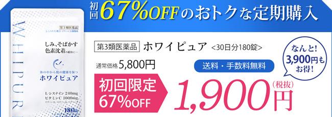 67%オフの特別価格!